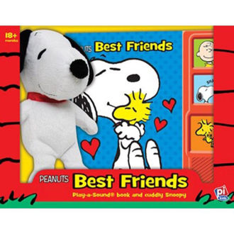 Picture of peanut Best Friends Play a-Sound-Book and Cuddly Snoopy