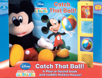 Picture of Mickey Mouse Clubhouse Catch That Ball Board book