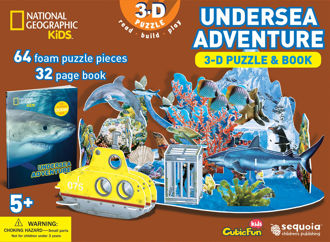 Picture of National Geographic Undersea : 3D Puzzle and Book