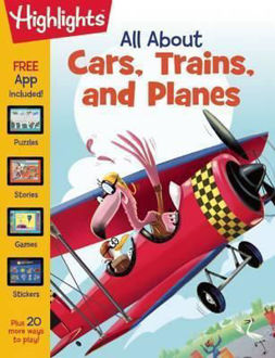 Picture of All about Cars, Trains, and Planes