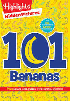 Picture of Hidden Pictures find 101 bananas  among 1500 hidden objects