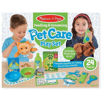 Picture of Feeding & Grooming Pet Care Play Set