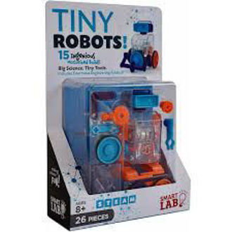 Picture of Tiny Robots Kit 15 Ingenious Motorized Builds