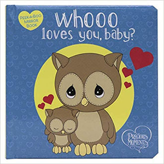 Picture of Whooo loves you, baby? Peek-a-Boo Mirror Book