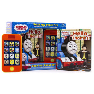 Picture of See all 4 images Thomas & Friends: Hello, Thomas! Book and Phone Set
