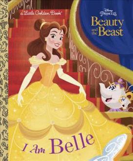 Picture of LITTLE GOLDEN BOOK: DISNEY PRINCESS I AM BELLE