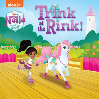 Picture of Nella the Princess Knight Trink at the Rink!