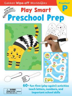 Picture of PLAY SMART PRESCHOOL PREP/ Wipe-off Workbook with Erasable Marker