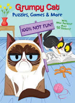 Picture of Grumpy Cat Puzzles, Games & More Over 50 stickers