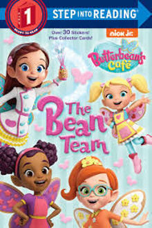 Picture of Butterbean's Cafe The Bean Team Step into Reading 1