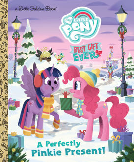 Picture of My Little Pony A Little Golden Book A Perfectly Pinkie Present!