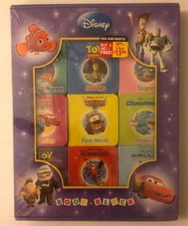 Picture of Disney Pixar - Book Block 9 Chunky Board Books