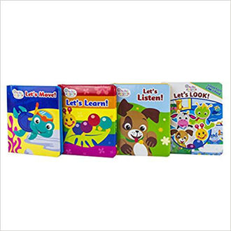 Picture of Baby Einstein - Little First Look and Find 4 Book Vinyl Bag Set