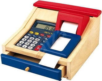 Picture of Cash Register / Machine with Real Calculator