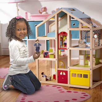 Picture of Hi-Rise Dollhouse