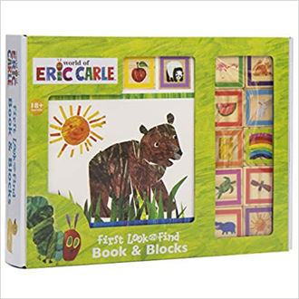 Picture of World of Eric Carl First look and Find Book & Blocks