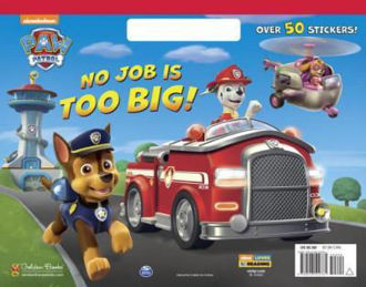 Picture of Paw Patrol No Job is too Big! Over 50 stickers