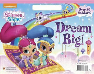 Picture of Shimmer and Shine over 50 Stickers Dream Big!