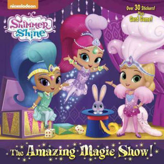 Picture of Shimmer and Shine The Amazing Magic Show with 30 stickers