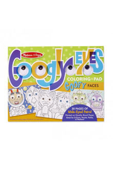 Picture of Wacky Faces - Googly Eyes Coloring Pad