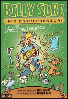 Picture of Billy Sure and the Everything Locator (Hardback)