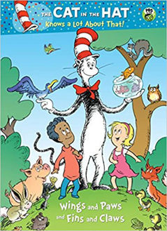 Picture of Wings and Paws and Fins and Claws (Dr. Seuss/Cat in the Hat)