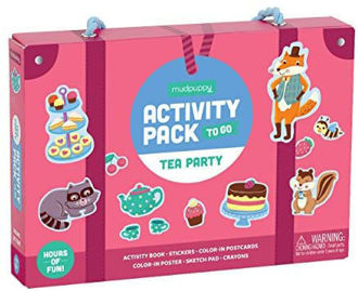 Picture of Activity pack to Go  Tea Party Childrens Arts & Crafts Kits
