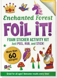 Picture of Enchanted Forest Foil It! (Foam Sticker Activity Kit)