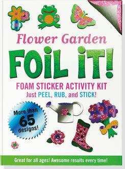 Picture of Flower Garden Foil It! (Foam Sticker Activity Kit)