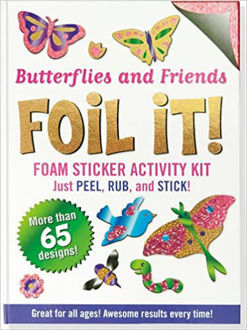 Picture of Butterflies and Friends Foil It! (Foam Sticker Activity Kit)