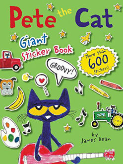 Picture of Pete the Cat Giant Sticker Book