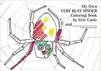 Picture of My Own Very Busy Spider Coloring Book