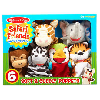 Picture of Safari Buddies Hand Puppets