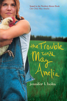 Picture of The Trouble with May Amelia (hardcover)