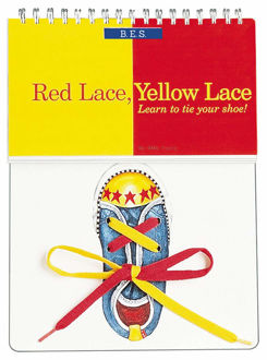 Picture of Red Lace, Yellow Lace: Learn to Tie Your Shoe! Board book