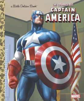 Picture of The Courageous Captain America (Marvel: Captain America)