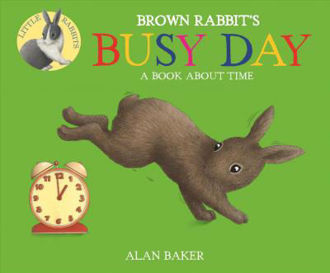 Picture of BROWN RABBIT'S BUSY DAY