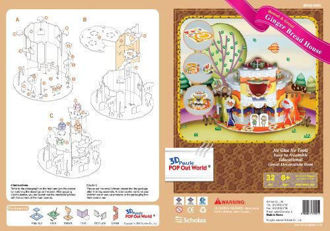 Picture of POP Out World 3D Puzzle Hansel & Gretel - The Gingerbread House""