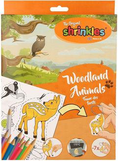 Picture of Woodland Wildlife Shrink Plastic Crafts Bumper Box