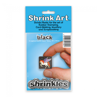 Picture of Shrink Art 101x131mm (6 Sheets) - Black