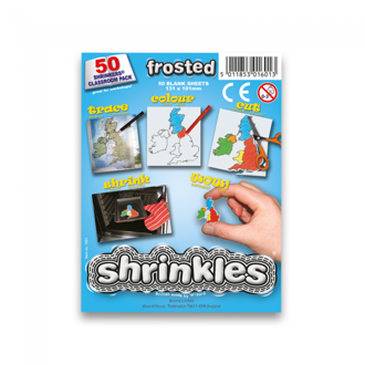 Picture of Shrink Art Classroom Pack 101x131mm (50 Sheets) - Frosted