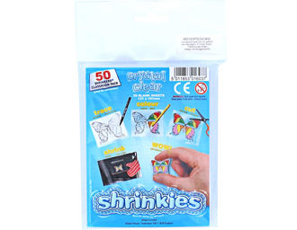 Picture of Shrink Art Classroom Pack 101x131mm (50 Sheets) - Crystal Clear