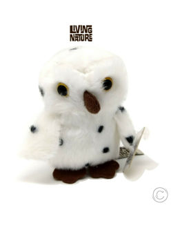 Picture of Living Nature Bean Buddies British Woodland Wildlife Soft Toys Owl