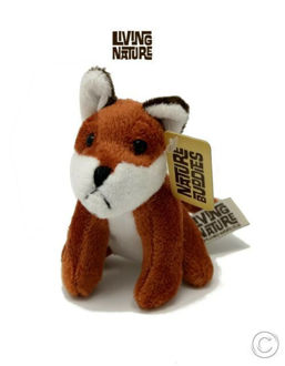 Picture of Living Nature Fox Plush Soft Toy Mini Buddies