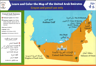 Picture of Learn and Color  the Map of  United Arab Emirates - UAE