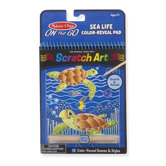 Picture of SEALIFE COLOR-REVEAL SCRATCH ART PAD