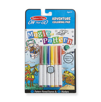 Picture of Magic-Pattern Coloring Pad On the Go Adventure