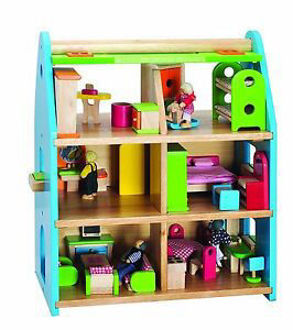 Picture of BIGJIGS Town House Playset