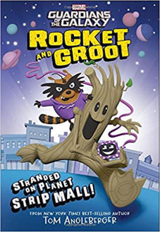 Picture of Marvel Guardians of the Galaxy Rocket and Groot Stranded on Planet Strip Mall!