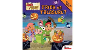 Picture of Disney Jake Never Land Pirates Trick or Treasure? Stickers inside